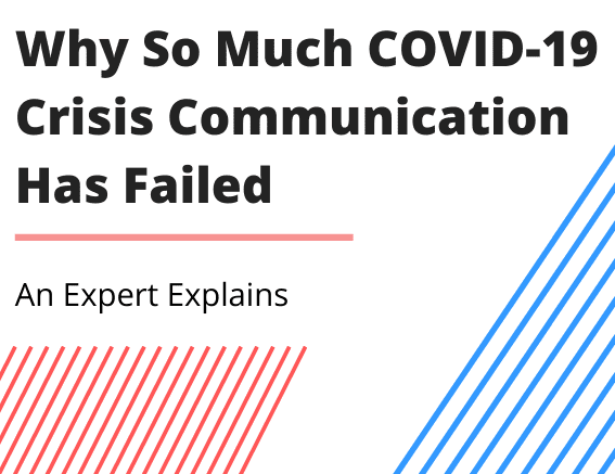 Covid 19 crisis communication ebook cover