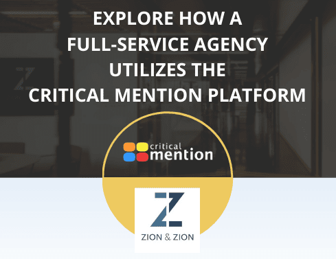 how agencies use critical mention